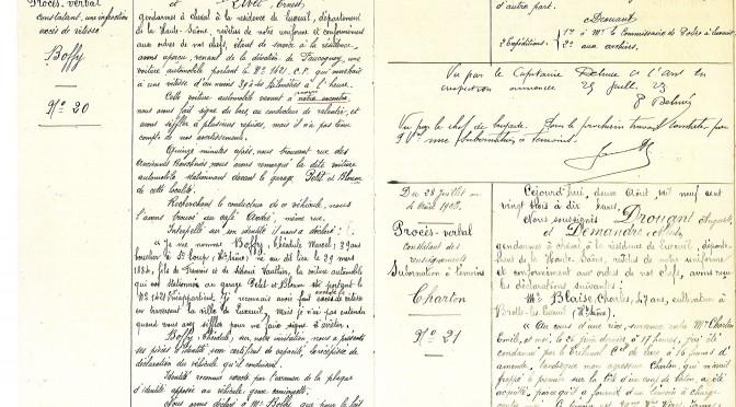 Délai de conservation des papiers administratifs