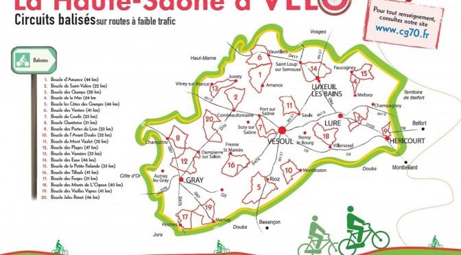 La Haute-Saône à vélo