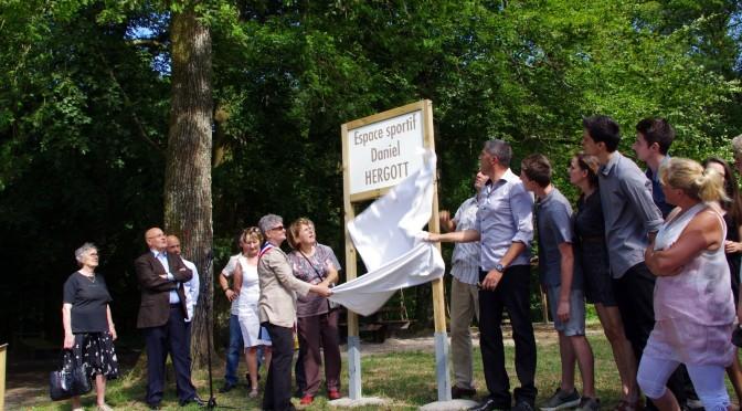 Inauguration de l'espace sportif Daniel Hergott