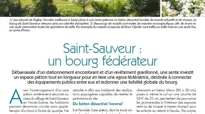 Entrée nord de Saint-Sauveur