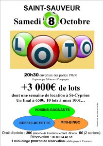 affiche loto magasin 2016