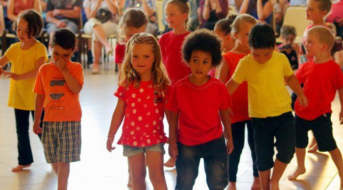 Spectacle de danse pour l'école maternelle.
