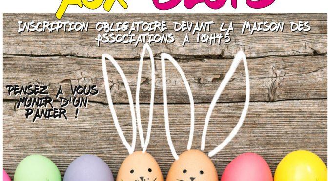 Chasse aux œufs !